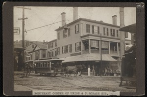 Corner of Union and Purchase Streets, New Bedford