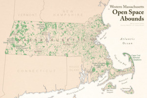 Western Massachusetts open space abounds