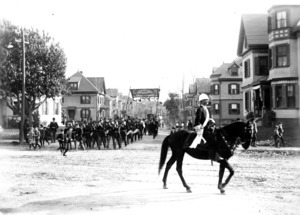 Columbus Day Parade, 1892.