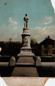 Civil War Soldier's Monument.