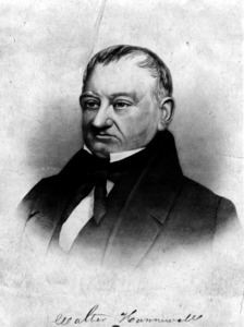 Dr. Walter Hunnewell (photograph of an etching).