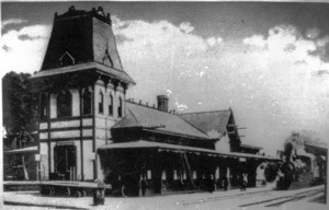 Watertown Railway Station.