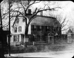 General William Hull house, corner of Centre and Pearl Streets.