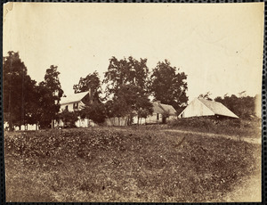 Battlefield of Cedar Mountain Slaughter's House Position of Confederate battery August 1862