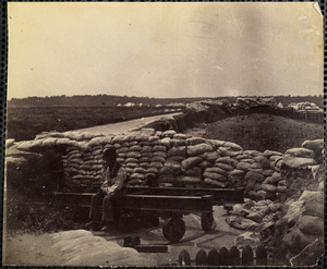Confederate fortifications at Yorktown