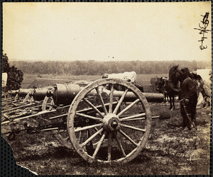 Battery 1st New York Light Artillery near Fair Oaks June 1862