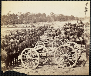 Battery 2nd U.S. Artillery near Fair Oaks June 1862