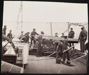"Gun Crew of U.S. Ship ""Miami"""