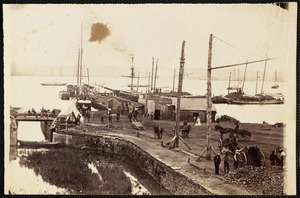 Alexandria Virginia, Government Coal Wharf