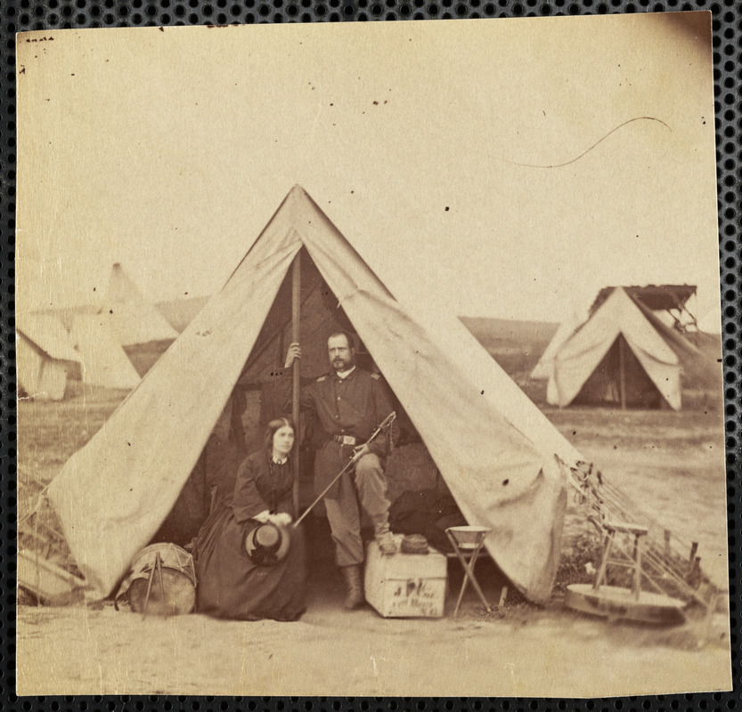 22d New York State Militia Captain J.F. Cox