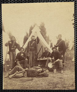 23d New York Infantry, [text cut off on back] ...y