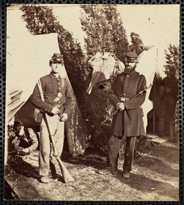23d New York Infantry, [text cut off on back] Kiska...