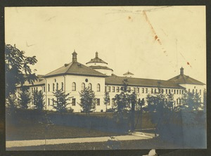 West view boys' wing, Overbrook School for the Blind, Philadelphia