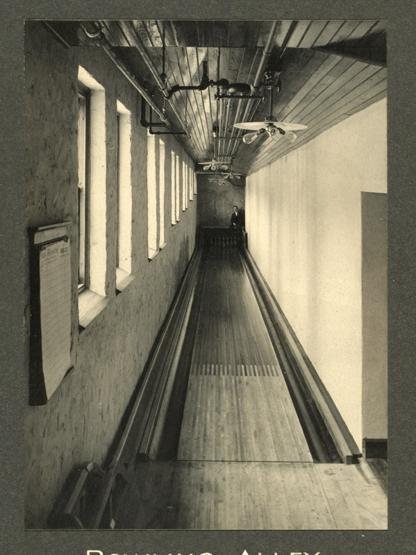 Bowling alley, Overbrook School for the Blind, Philadelphia