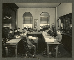 The boys' special class, Overbrook School for the Blind, Philadelphia