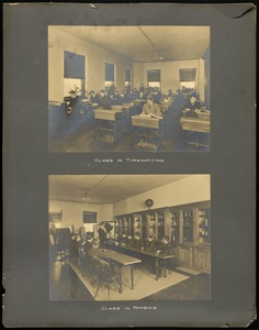 Classrooms, Overbrook School for the Blind, Philadelphia
