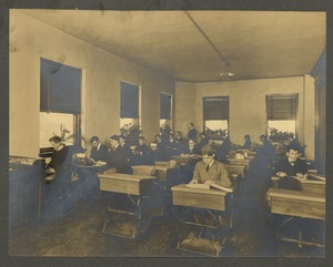 Class in typewriting, Overbrook School for the Blind, Philadelphia