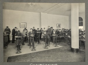Chaircaning, Overbrook School for the Blind, Philadelphia