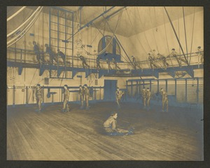 Skating and running, Overbrook School for the Blind, Philadelphia