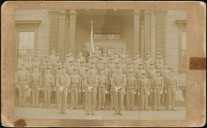 Brockton High School cadets