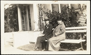 """Uncle D.W. [Field] and """"Aunt"""" Rose snapshot"""