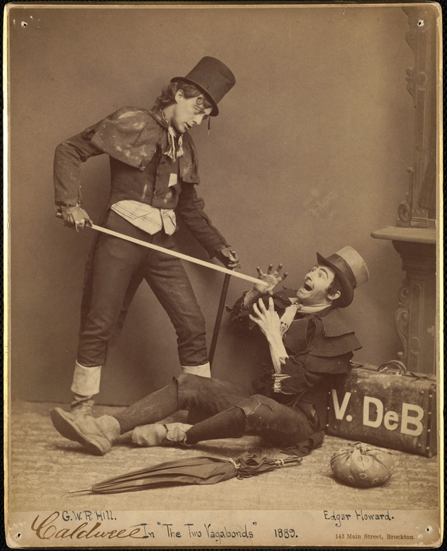 The two vagabonds--play