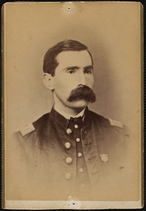 Orphan-portrait, man in uniform