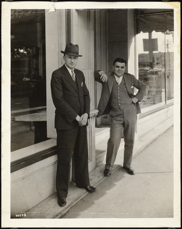 Ed Lalli (owner of Lalli Motors) and Harold Appling