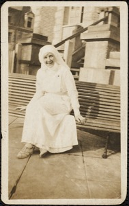Susan E. Thompson--Nurse WWI