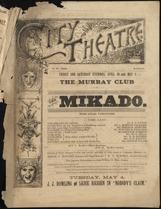The Mikado--The Murray Club