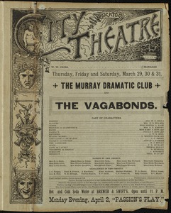 The vagabonds--The Murray Dramatic Club