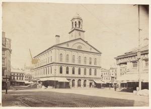 Faneuil Hall. Built in 1742