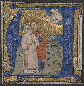Cutting from a 15th-century Bible
