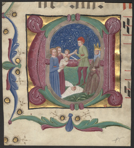 Cutting from a 15th-century gradual