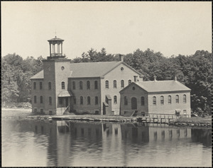 Historic photograph: Mann's Mill, Sharon, MA