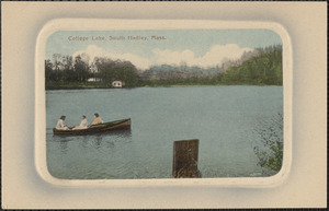 College Lake, South Hadley, Mass.