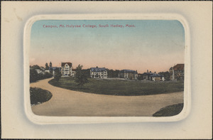Campus, Mt. Holyoke College, South Hadley, Mass.