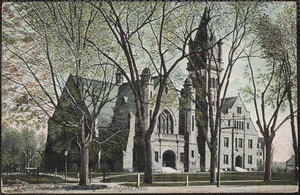 Mary Lyon Chapel, Mt. Holyoke College, near Holyoke Mass.