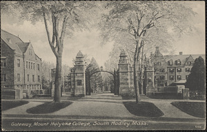 Gateway, Mount Holyoke College, South Hadley, Mass.