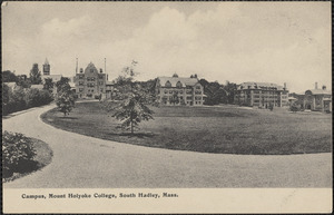 Campus, Mount Holyoke College, South Hadley, Mass.