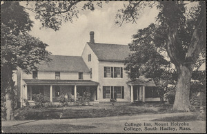 College Inn, Mount Holyoke College, South Hadley, Mass.