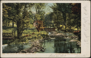 The brook, Mt. Holyoke College, Mass.