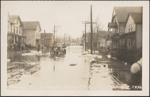 Bridge Street, South Hadley Falls, Mass. March 19 1936