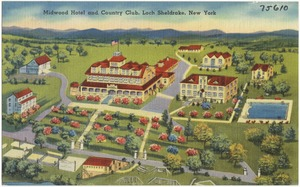 Midwood Hotel and Country Club, Loch Sheldrake, New York