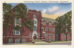 """Chattanooga Public Library, Chattanooga, Tennessee"""