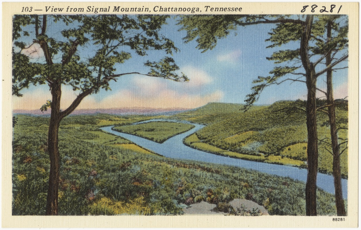 103 -- View from Signal Mountain, Chattanooga, Tennessee