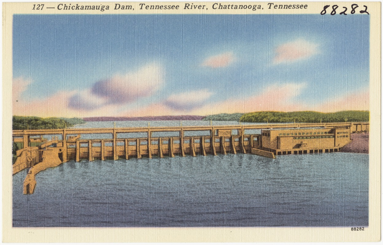 127 -- Chickamauga Dam, Tennessee River, Chattanooga, Tennessee