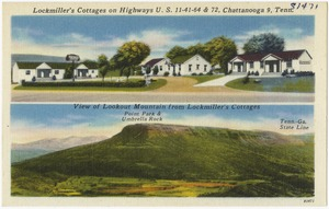Lockmiller's Cattages on Highway U.S. 11 - 41 - 64 & 72, Chattanooga 9, Tenn.