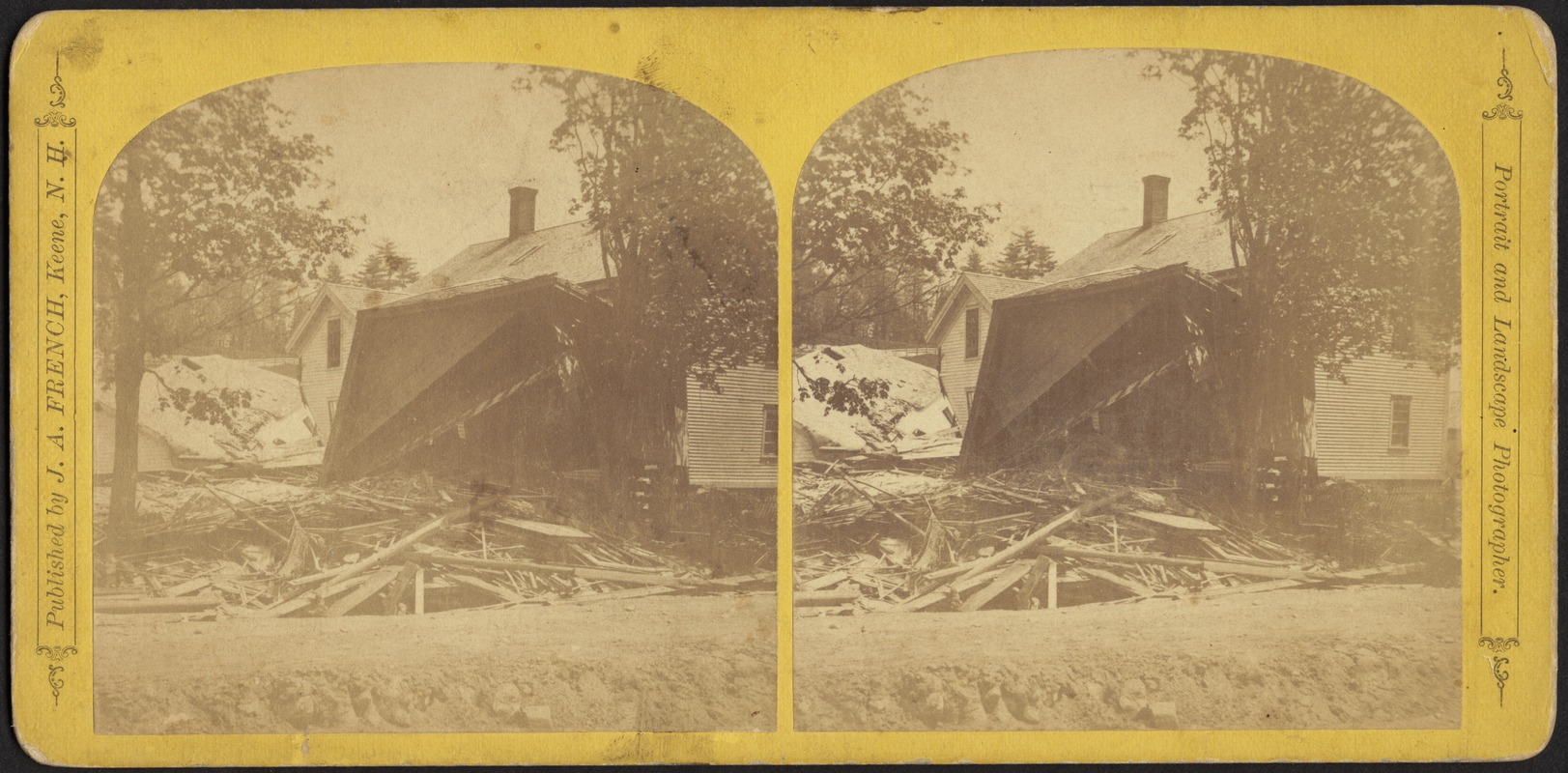A collision of three houses; total wreck--Leeds