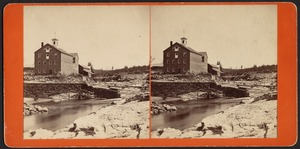 Nonotuck Silk Mill and break in dam--Leeds